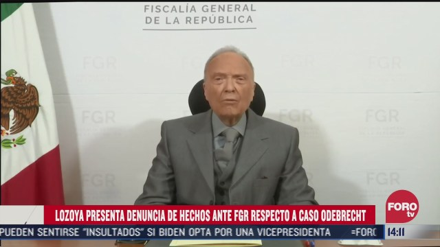lozoya denuncia ante fgr sobornos por caso odebrech