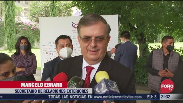 Marcelo Ebrard aseguró que México fabricaría vacuna contra Covid-19 en noviembre