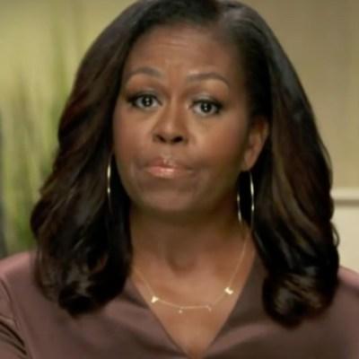Michelle Obama sobre Trump: 'Es el presidente equivocado para nuestro país'