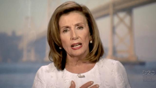 Mensaje de Nancy Pelosi en la Convención Demócrata de hoy