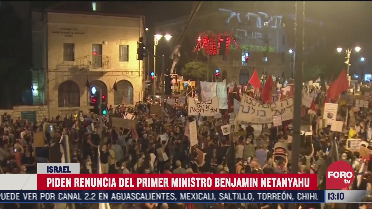 nuevas protestas contra netanyahu