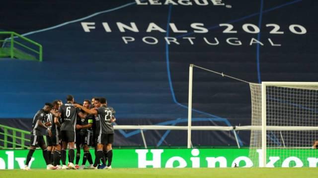 El Olympique Lyon jugará las semifinales de la UEFA Champions League contra el alemán Bayern München