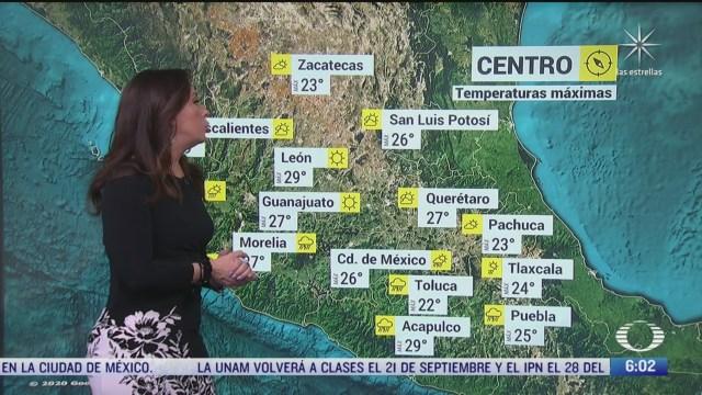 onda tropical 25 provocara lluvias en el oriente centro y sur de mexico