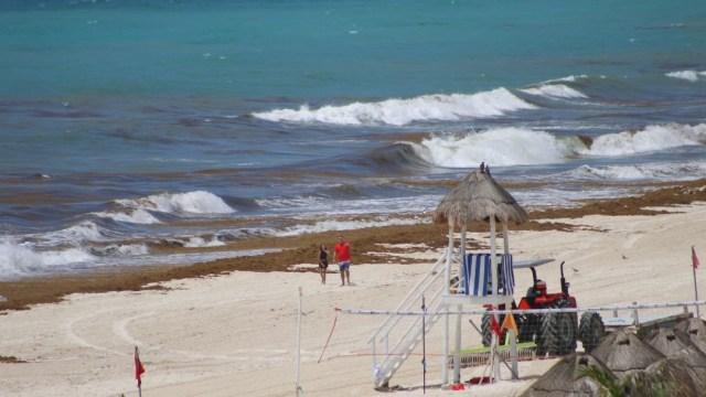 Emiten-alerta-verde-en-Quintana-Roo-por-depresión-tropical-Catorce