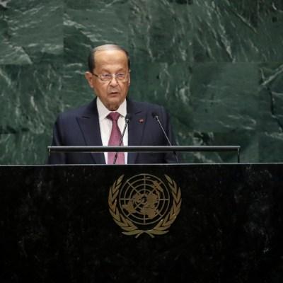 Pese a protestas por explosiones en Beirut, presidente de Líbano no dimitirá