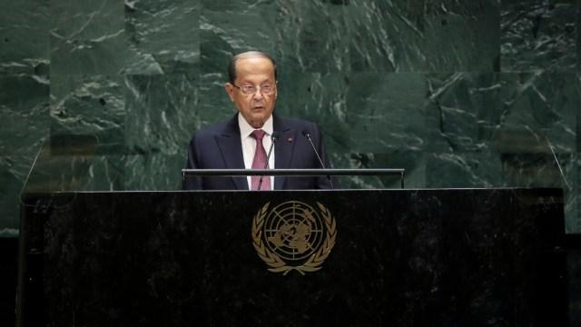 Presidente libanés, Michel Aoun