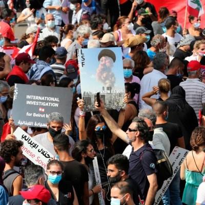 Protestas contra el gobierno de Líbano
