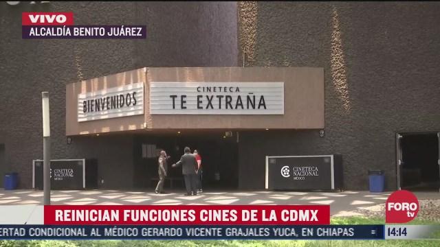 reanuda funciones la cineteca nacional