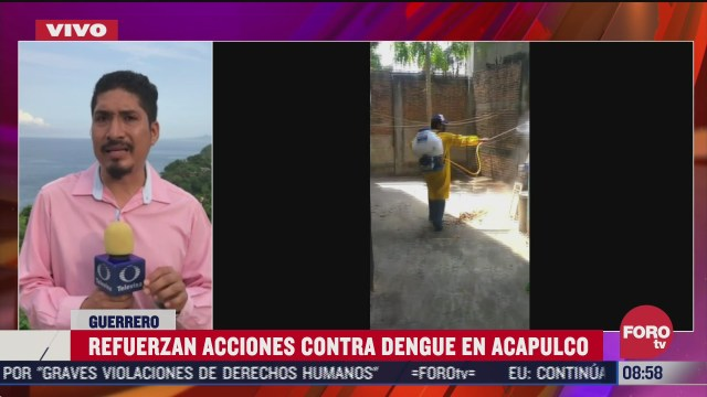 refuerzan acciones contra el dengue en acapulco
