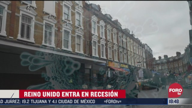 reino unido entra en recesion economica por covid