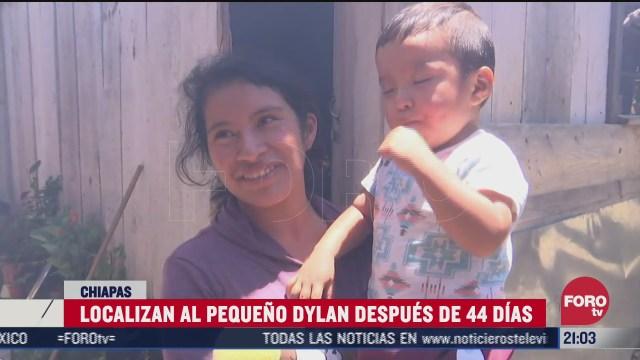 ylan el niño robado hace 44 días en Chiapas