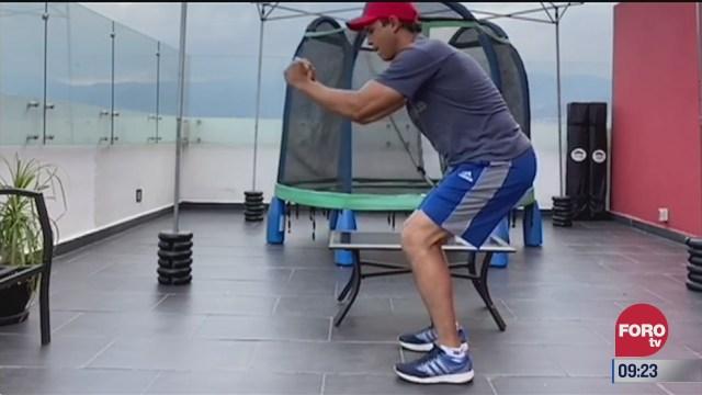 rutina de ejercicio con ulises de la torre del 13 de agosto del