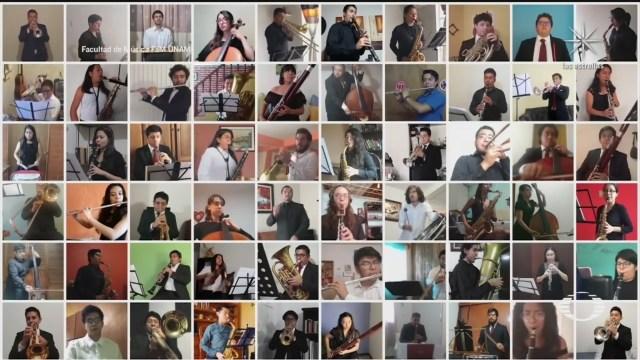 sinfonica de la unam presenta primer recital virtual