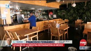 situacion de la industria restaurantera en mexico