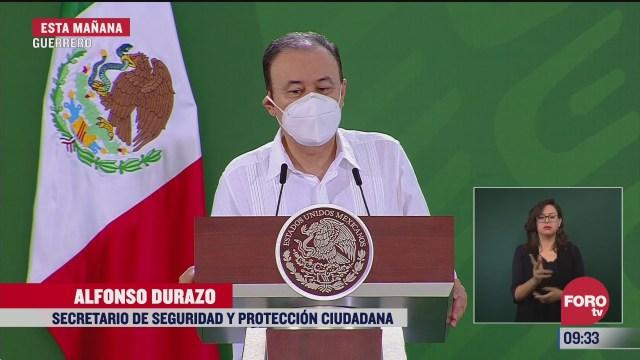 Durazo: Corresponde a Sinaloa confirmar si hombre asesinado en Navolato es hijo de Carrillo Fuentes