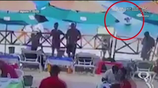 moto acuática mata a turista en Cabos San Lucas