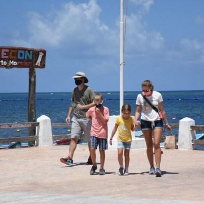 Turismo internacional en México cae 74.8% en junio por COVID-19