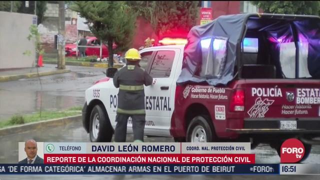 zona de baja presion afecta oaxaca proteccion civil