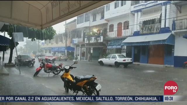 zona de baja presion provoca lluvias en oaxaca