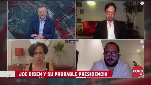 Leo Zuckermann, Denise Dresser, Pablo Majluf y Mario Arriagada analizan la campaña presidencial de Joe Biden
