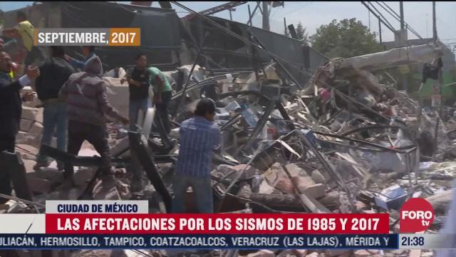 19 de septiembre de 1985 y 2017 fechas que ha marcado a los mexicanos