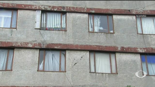 a tres anos del 19s damnificados habitan edificios danados en el terremoto del