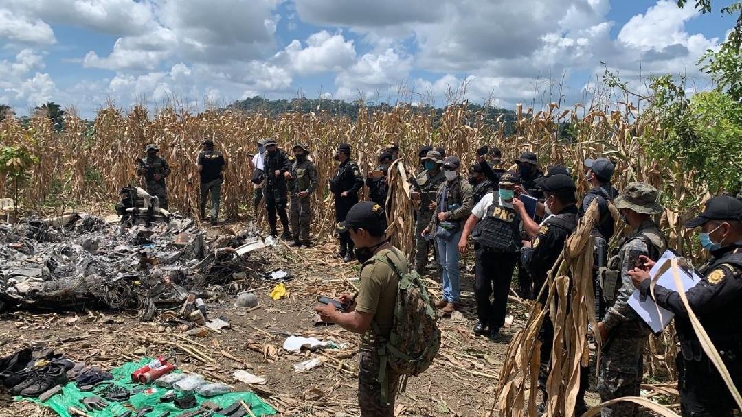 Suman-cuatro-muertos-por-accidente-de-jet-en-Guatemala