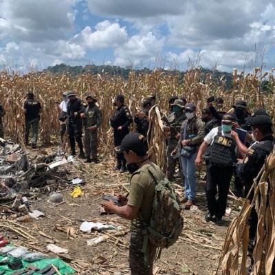 Jet-robado-en-Aeropuert-de-Morelos-se-estrella-en-Guatemala