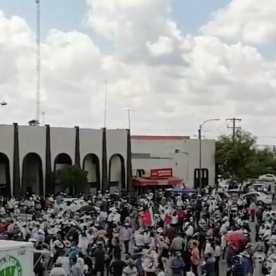 Agricultores de Chihuahua exigen que Conagua deje de extraer agua de La Boquilla