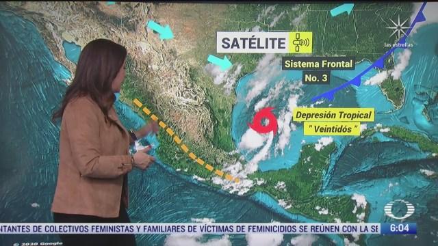 alta probabilidad de lluvia en la cdmx