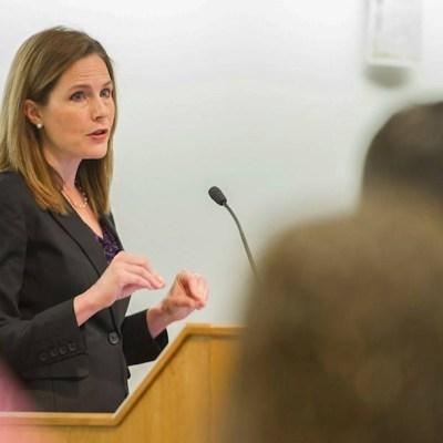 El presidente Trump designó a Amy Coney Barrett como nueva jueza del Tribunal Supremo de Estados Unidos