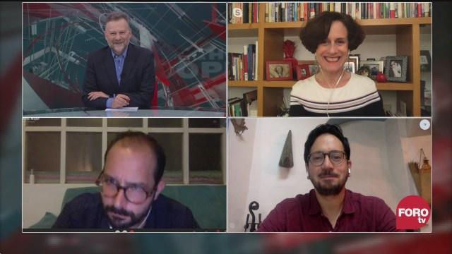 o Zuckermann, Denise Dresser, Mario Arriagada y Pablo Majluf analizan la toma de las instalaciones de la CNDH en la CDMX