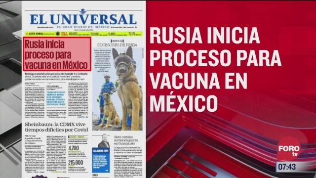 analisis de las portadas nacionales e internacionales del 18 de septiembre del