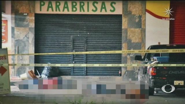 asesinan a cinco personas en taqueria de irapuato guanajuato