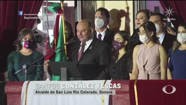 Grito de Independencia en las entidades de México