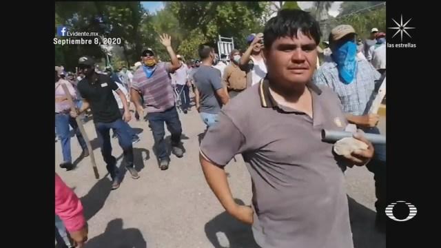 Atacan a campesinos que participaron en toma de la presa 'La Boquilla' en Delicias, Chihuahua
