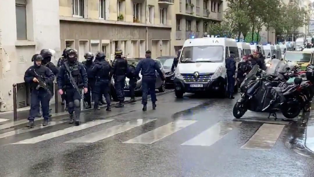 Ataque con arma blanca deja cuatro heridos junto a antigua redacción de Charlie Hebdo en París