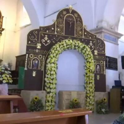 La iglesia y convento de San Francisco es el lugar en donde se ofició la primera misa de América en el año de 1517