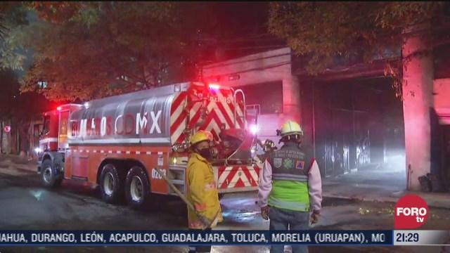 incendio en fabrica de textiles en colonia obrera de la cDMX