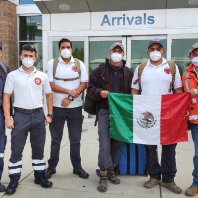 Bomberos de Guanajuato apoyan en labores de rescate por incendios en Estados Unidos