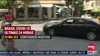 brasil supera los 4 3 millones de casos de covid
