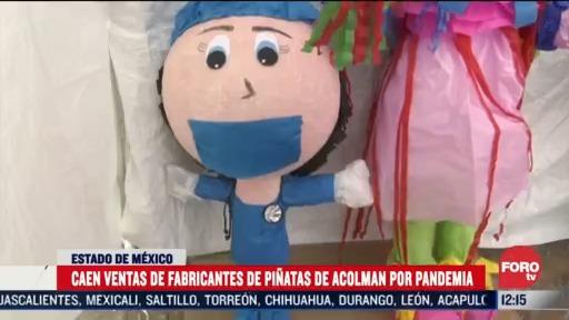 caen ventas de fabricantes de pinatas de acolman por pandemia