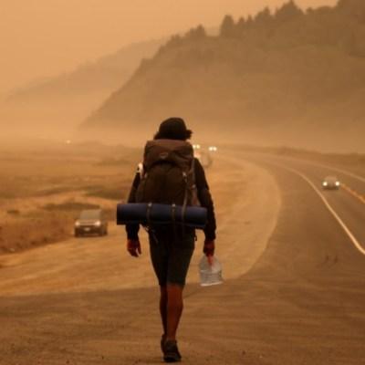Nube de humo por incendios en California llega a Sonora