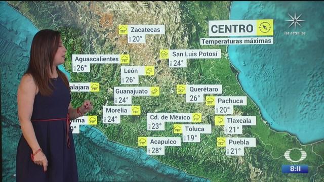 clima al aire mexico registrara bajas temperaturas por el frente frio
