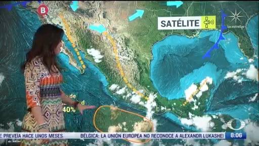 clima al aire preven 22 grados centigrados y lluvias