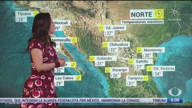 clima al aire preven 24 grados centigrados en la cdmx