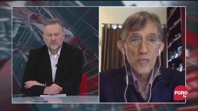 Leo Zuckermann platica con el científico Antonio Lazcan sobre la vacuna de la influenza en tiempos de covid 19