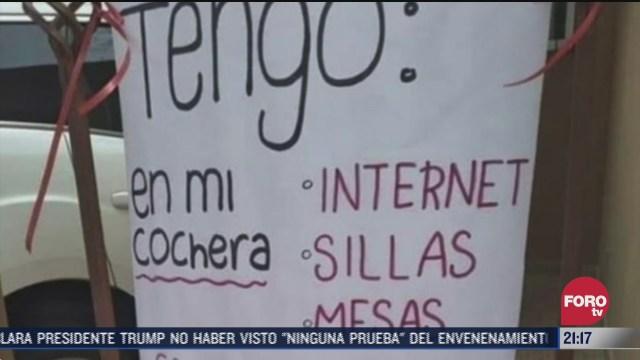 comparten internet para estudiantes en durango