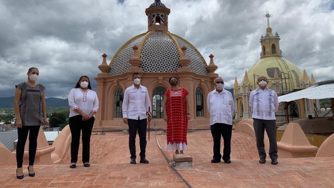 Concluye restauración de la Catedral de Huajuapan de León, en Oaxaca