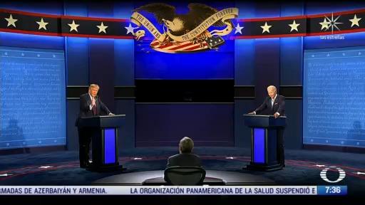 debate entre trump y biden marcado por el caos como pronosticaron los medios